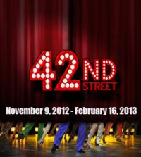 42ND STREET Opens At Boulder's Dinner Theatre Tonight! Running Through 02/16/2013