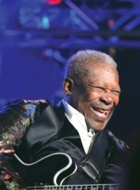 B.B. King Returns to Morris Performing Arts Center Tonight