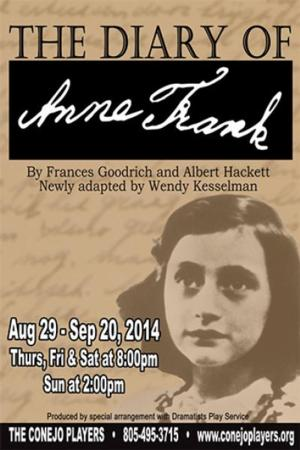 Conejo Players to Open THE DIARY OF ANNE FRANK, 8/29