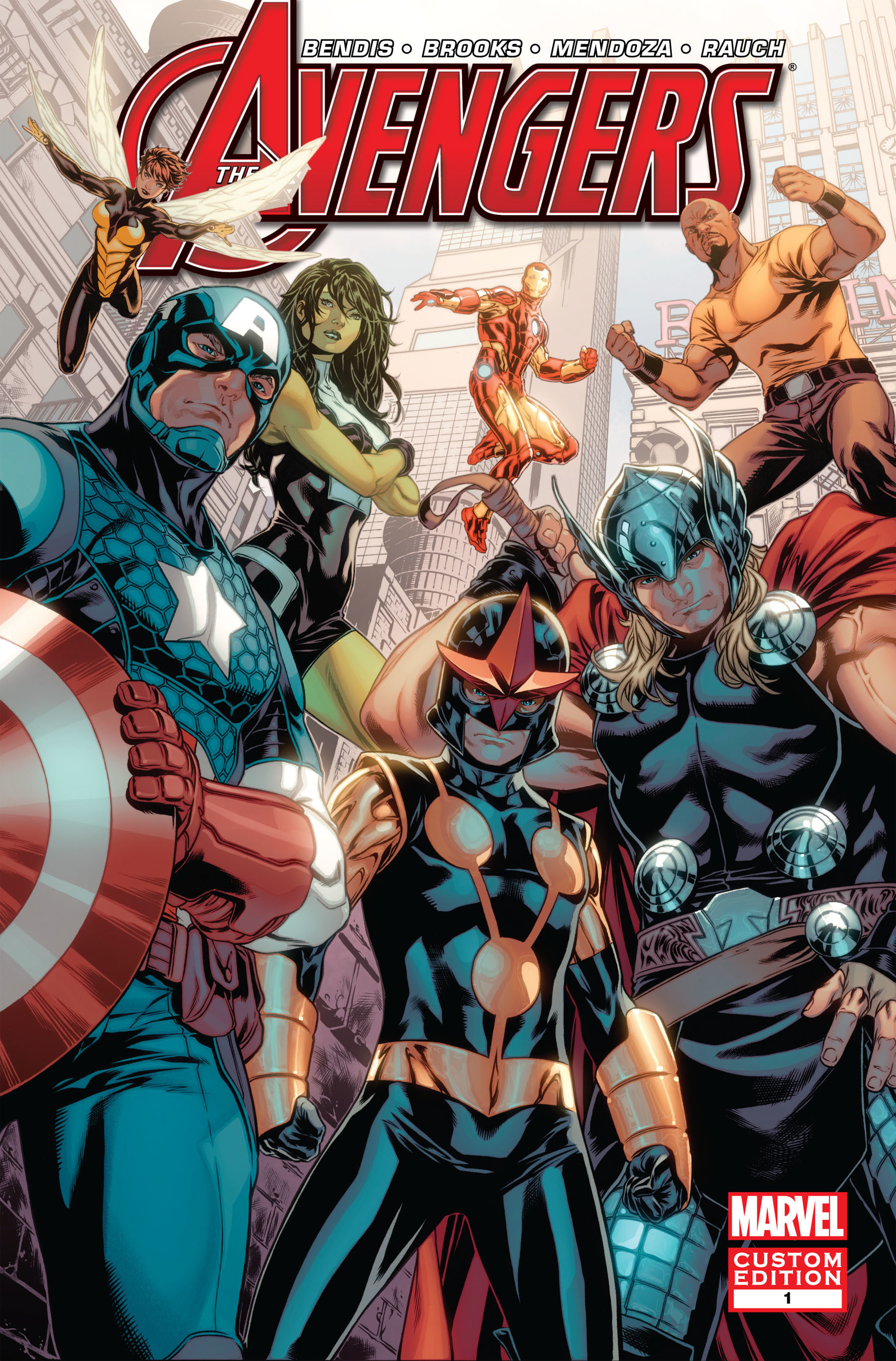 New Avengers Comic Book By Marvel is Announced