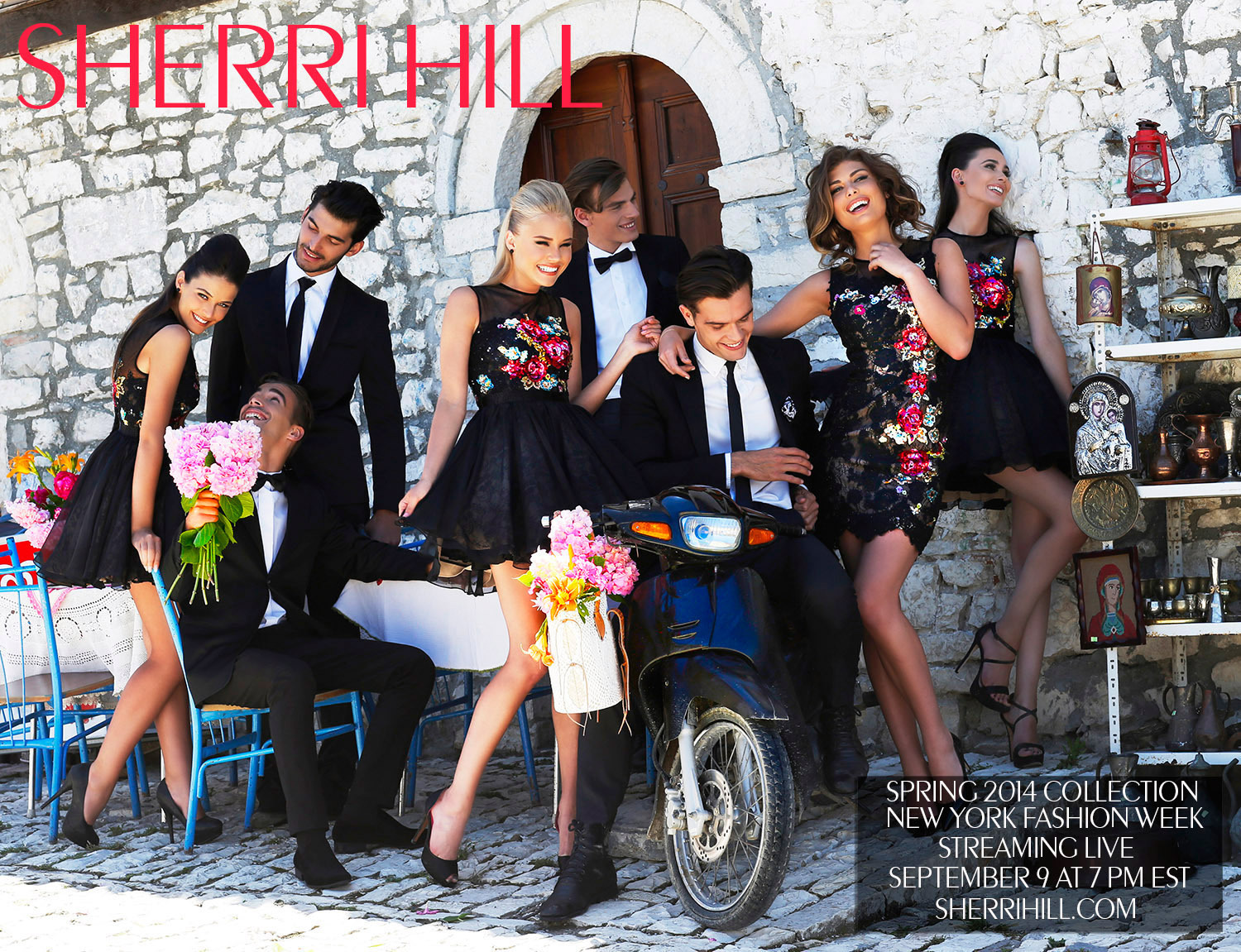 Sherri Hill's Spring Collection Hits Runway Next Week