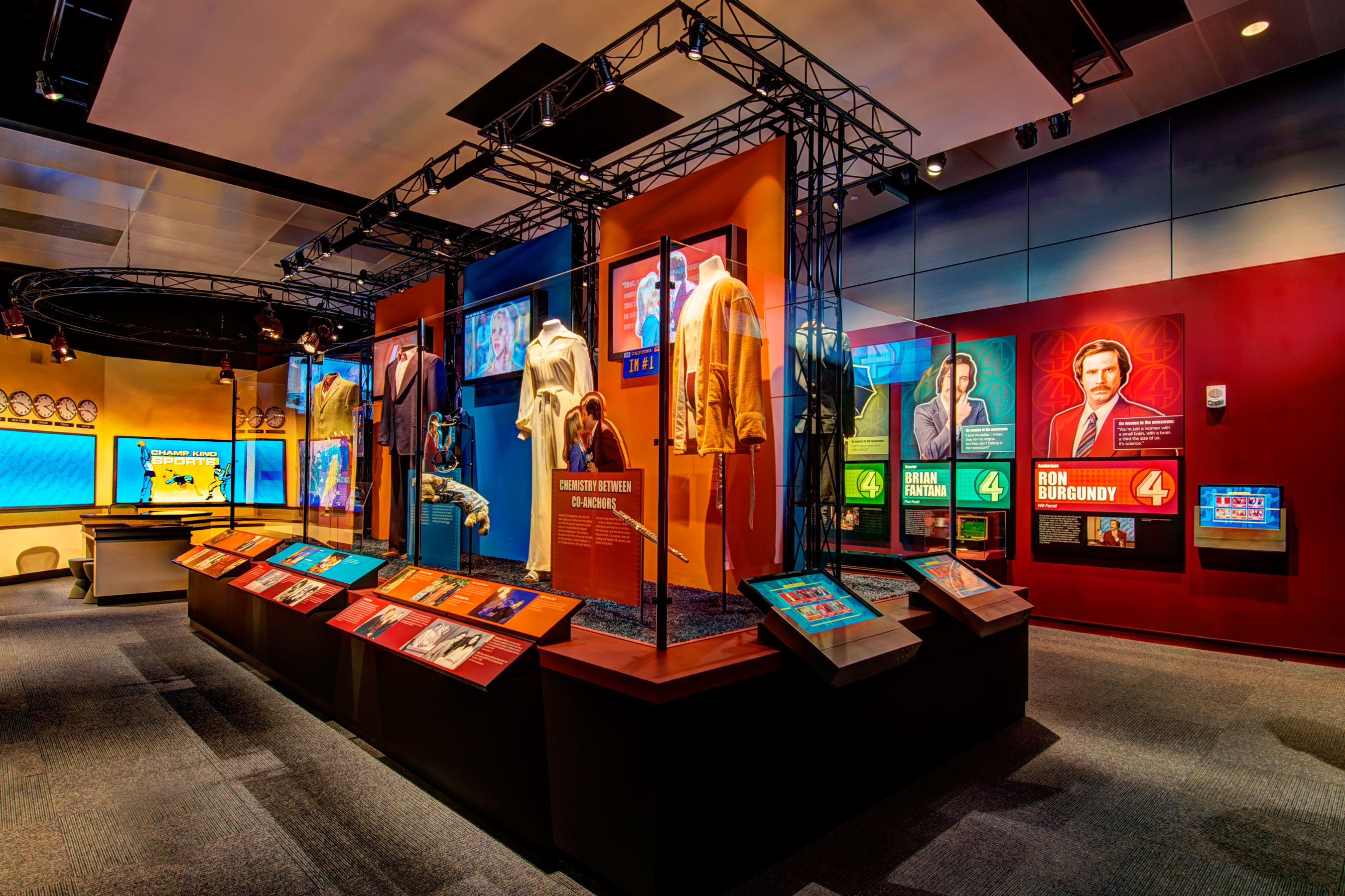 ANCHORMAN: The Exhibit Opens At the Newseum