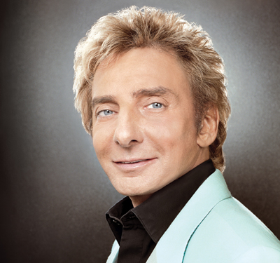 Barry Manilow has a taste for e-cigarettes