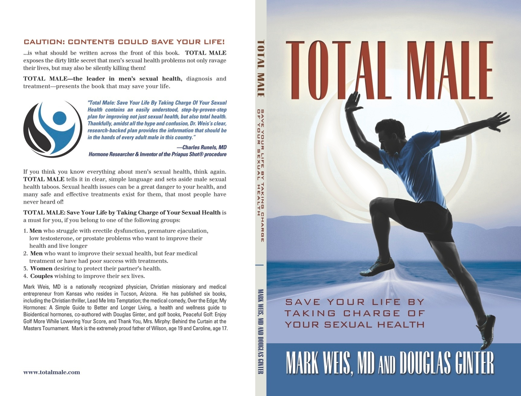 'Total Male: Save Your Life by Taking Charge of Your Sexual Health' is Released