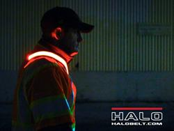 Halo Belt 2.0 Makes Nighttime Running and Cycling Safe