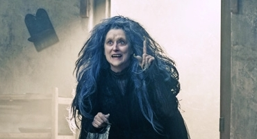 New Production Photo Of Meryl Streep In INTO THE WOODS