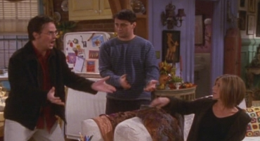BWW Flashback Friday: FRIENDS The One Where Chandler Doesn't Like Dogs