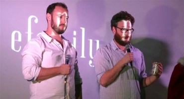 VIDEO: Watch Seth Rogen Surprise THE INTERVIEW Moviegoers with Big Thank You