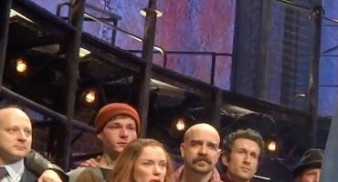 STAGE TUBE: Watch Sting & The Cast of THE LAST SHIP's Emotional Final Curtain Call