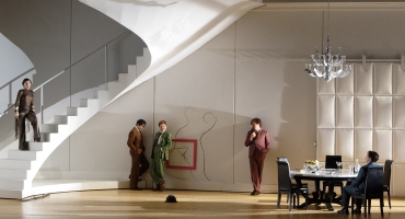 Photo Flash: Julian Wachner Makes San Francisco Opera Debut in PARTENOPE, 10/15