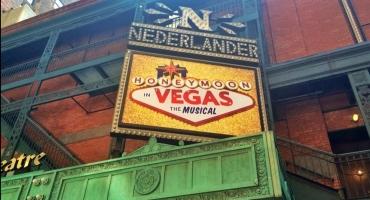 Photo Flash: Tony Danza Tweets First Look at HONEYMOON IN VEGAS Marquee!