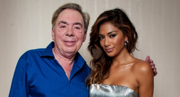 Photo Flash: Nicole Scherzinger Poses with Andrew Lloyd Webber + Talks Grizabella!