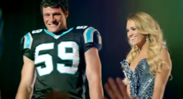 VIDEO: Carrie Underwood & 11 NFL Players Star in 'Waiting All Day' SUNDAY NIGHT FOOTBALL Opening Theme Song