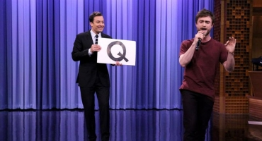 VIDEO: Daniel Radcliffe Raps Blackalicious' 'Alphabet Aerobics' on TONIGHT!