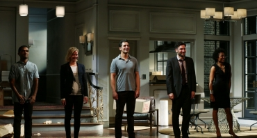 Photo Coverage: DISGRACED Company Takes Opening Night Bows at the Lyceum Theatre!