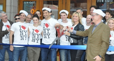 Photo Coverage: ON THE TOWN Company Cuts the Ribbon at the New Lyric Theatre!
