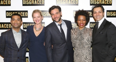 Photo Coverage: Mol, Radnor, Pittman, Dhillon & More Celebrate Opening Night of DISGRACED!
