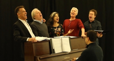 BWW TV: That's Entertainment! In Rehearsal with Brian Stokes Mitchell, Laura Osnes, Tracey Ullman and More for Encores! THE BAND WAGON