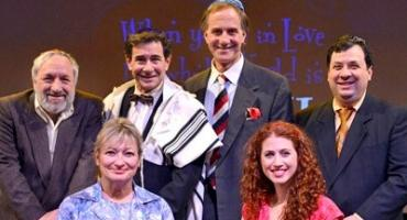 BWW Reviews: WHEN YOU'RE IN LOVE, THE WHOLE WORLD IS JEWISH Will Have You Plotzing With Laughter