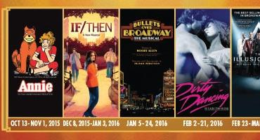IF/THEN, BULLETS OVER BROADWAY & More Will Tour in 2015-16- Hollywood Pantages Sets New Season!