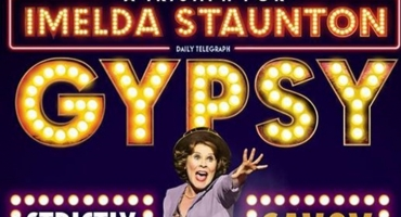 Official Poster For Imelda Staunton In New West End GYPSY