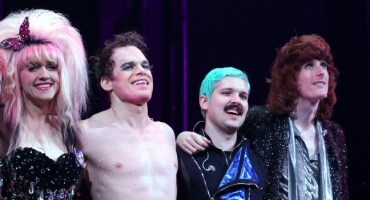 Photo Coverage: Michael C. Hall Returns to Broadway- Inside His HEDWIG AND THE ANGRY INCH Debut!