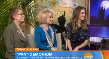 VIDEO: PAN-Demonium! Allison Williams, Sandy Duncan & Cathy Rigby Talk PETER PAN on 'Today'