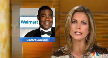VIDEO: Walmart Says Tracy Morgan Partly to Blame for Not Wearing Seatbelt