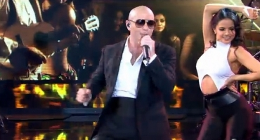 VIDEO: Pitbull Brings the Heat with 'Fireball' GMA Performance