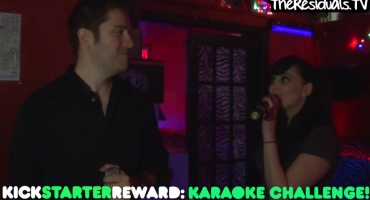 STAGE TUBE: THE RESIDUALS Pay Up on Their KickStarter 'Dareoke' w/ Johnny Cash & June Carter