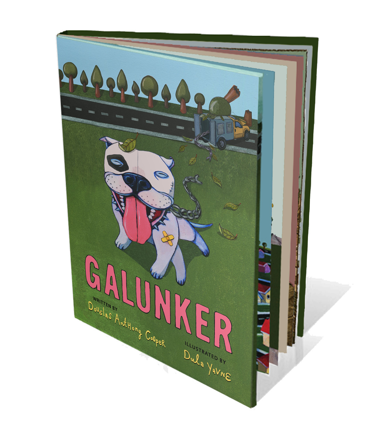 Galunker, A Children's Book About A Pit Bull, Gathers Huge Kickstarter Following
