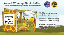 KD Novelties Wins Mom's Choice Awards for Personalized Children's Book