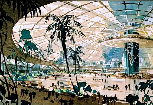 A+D Announces 'Never Built: Los Angeles' Exhibit of Original Map for Bible Storyland Theme Park