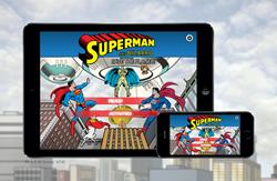 New Superman Book App is Released
