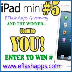 EFlashApps, Developers of Popular Kids Apps and Nursery Rhymes YouTube Videos is Giving Away 12 iPad Minis via Rafflecopter