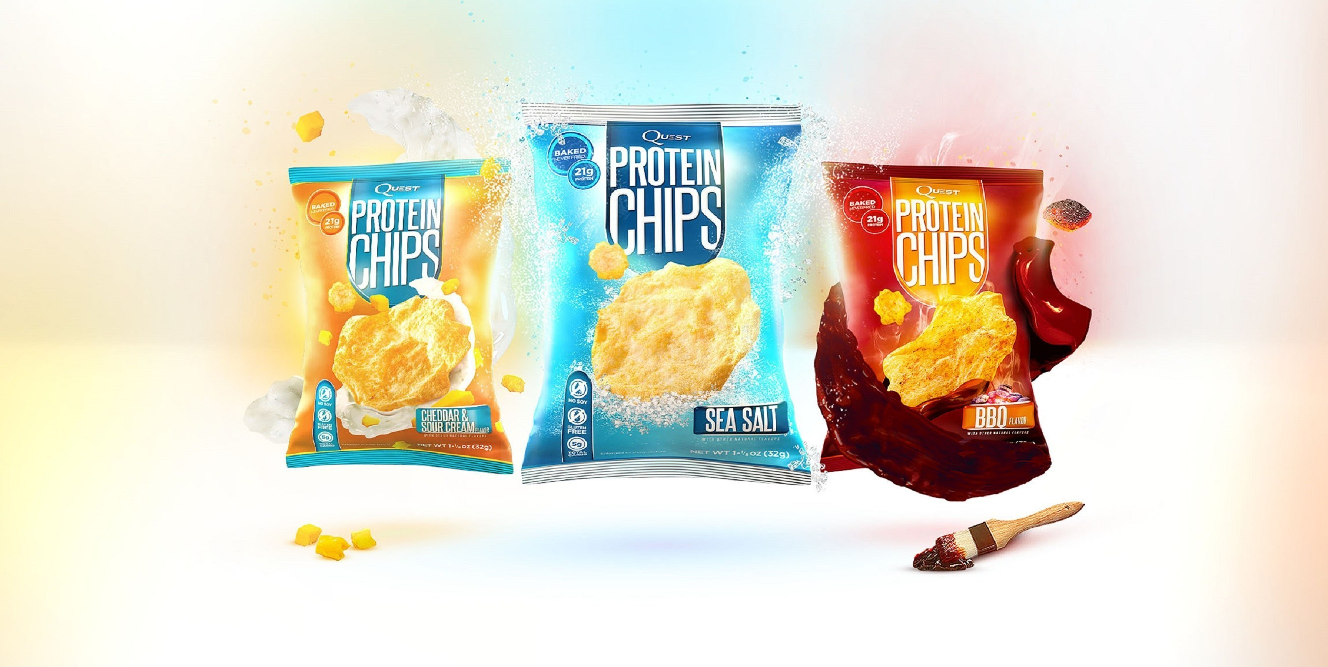 A HEALTHY Potato Chip? Quest Nutrition Launches Quest Protein Chips!