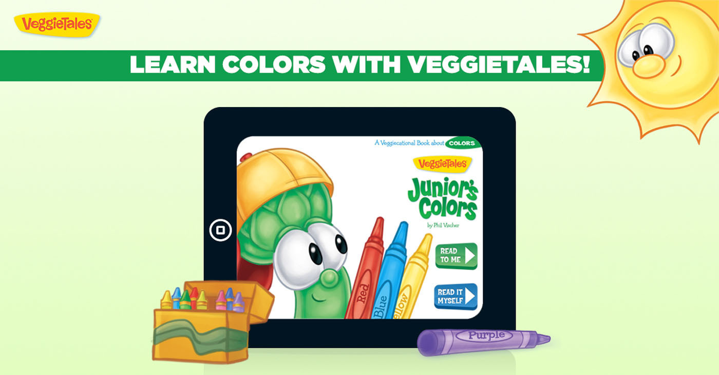VeggieTales Announces Interactive Storybook Collection on iPad