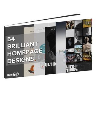 HubSpot Announces 54 Examples of Brilliant Homepage Design