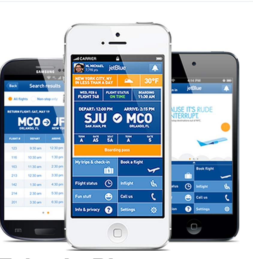 JetBlue Introduces Updated App with Mobile Boarding!