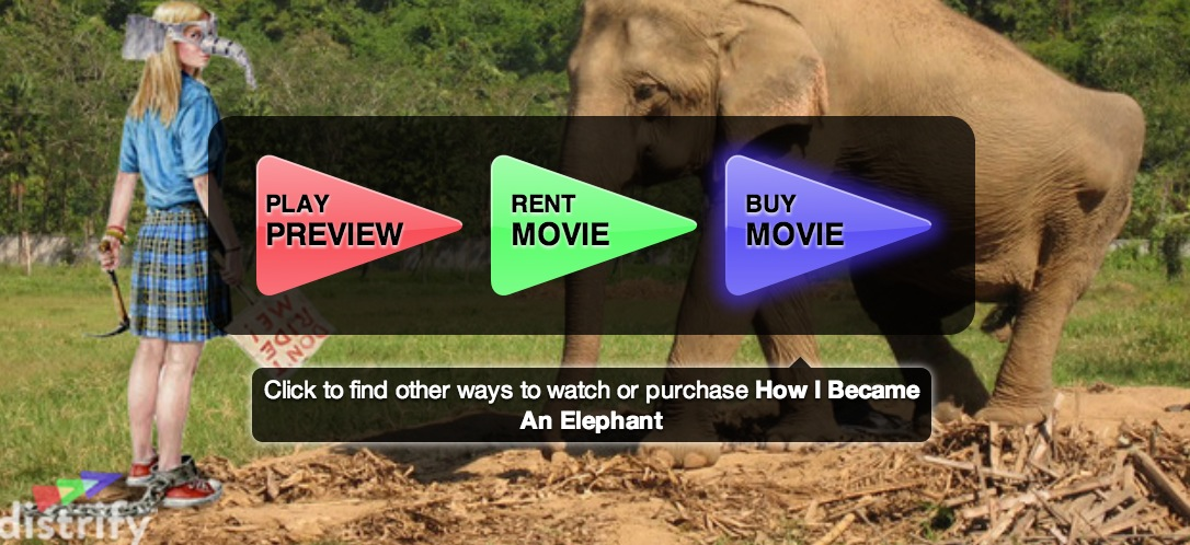 Award Winning 'How I Became An Elephant' (The Film) Now Available