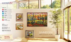 overstockArt.com Releases 2014 Summer Art Catalog