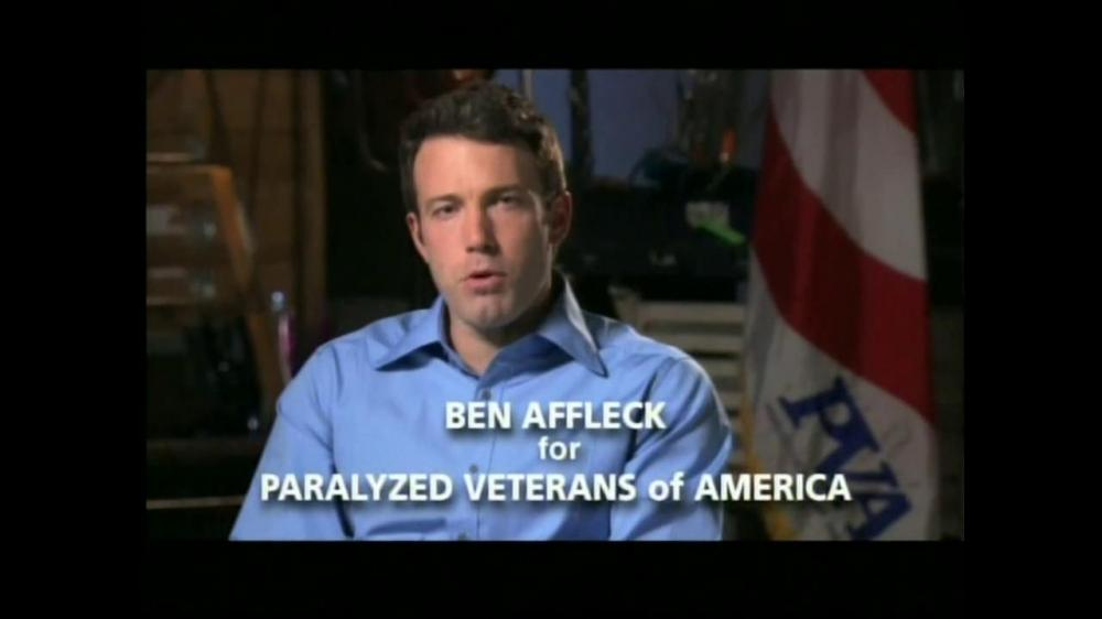 Paralyzed Veterans of America Awarded Telly Award for Ben Affleck Public Service Spot