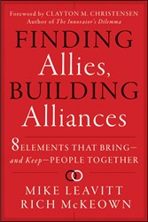 'Finding Allies, Building Alliances' by Mike Leavitt and Rich McKeown is Released
