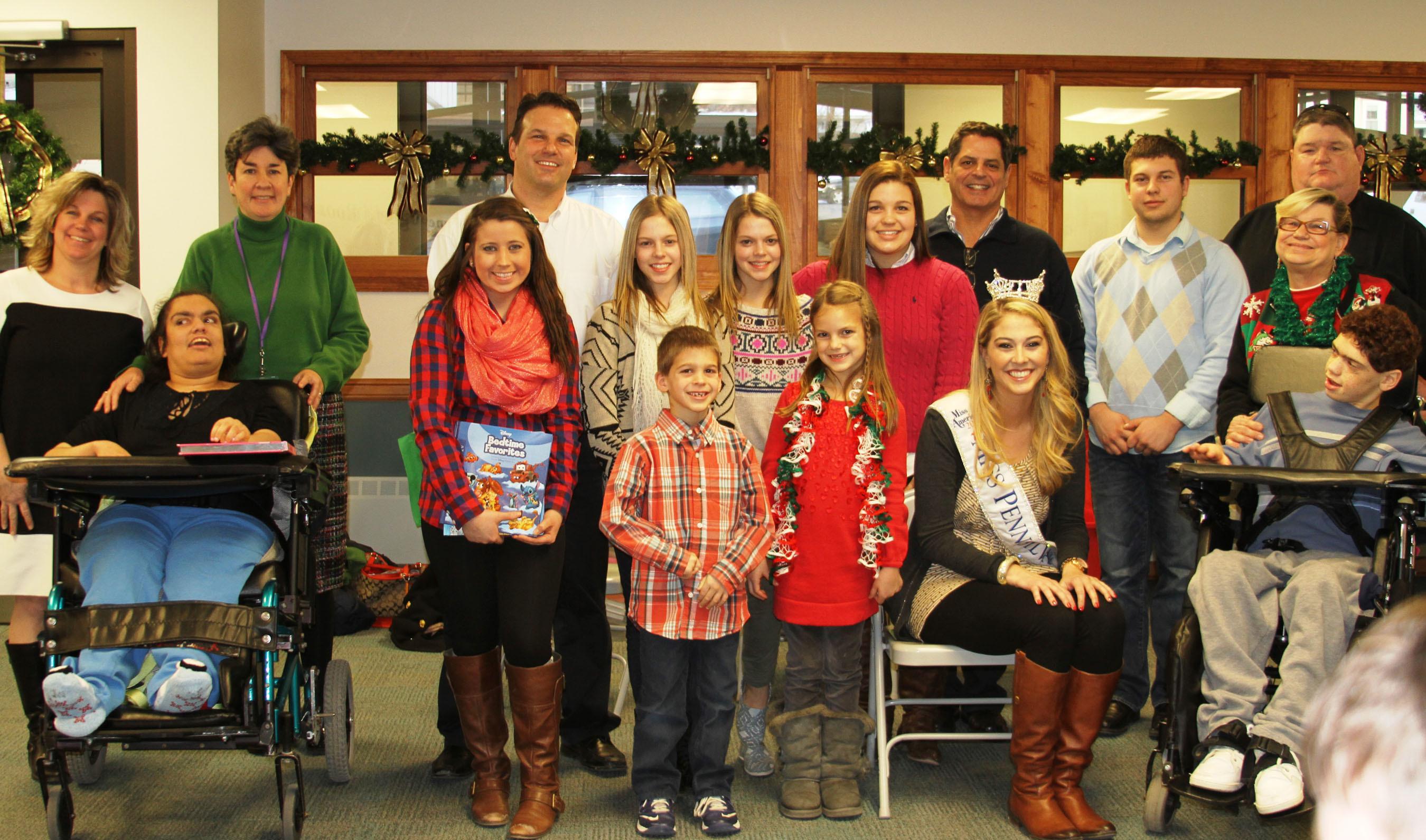 The Santarelli Family Donate More Than 1,700 Books in the Scranton Area