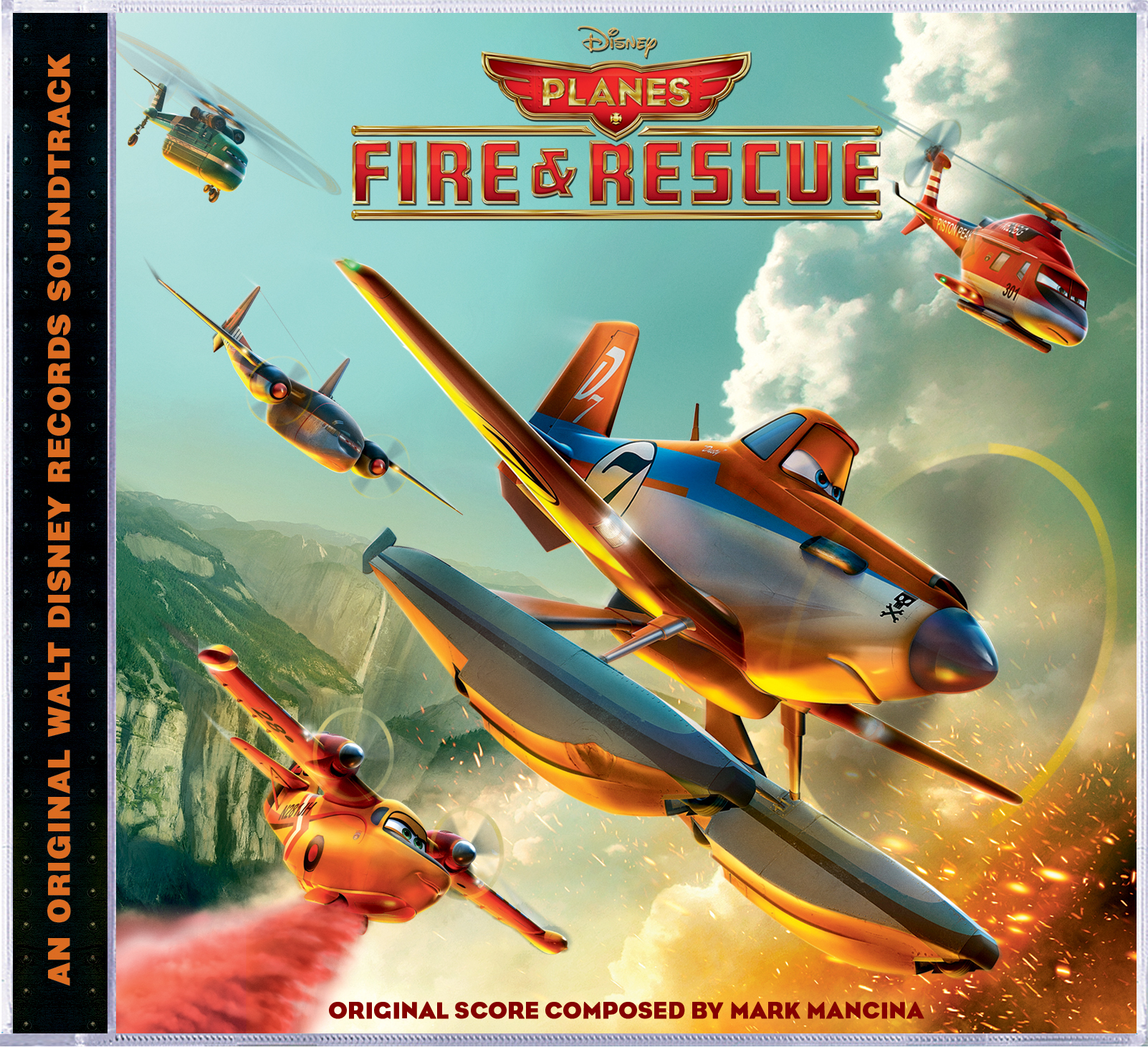 Walt Disney Records to Release PLANES: FIRE & RESCUE Original Motion Picture Soundtrack, 7/15