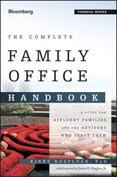 Kirby Rosplock Releases New Book, THE COMPLETE FAMILY OFFICE HANDBOOK