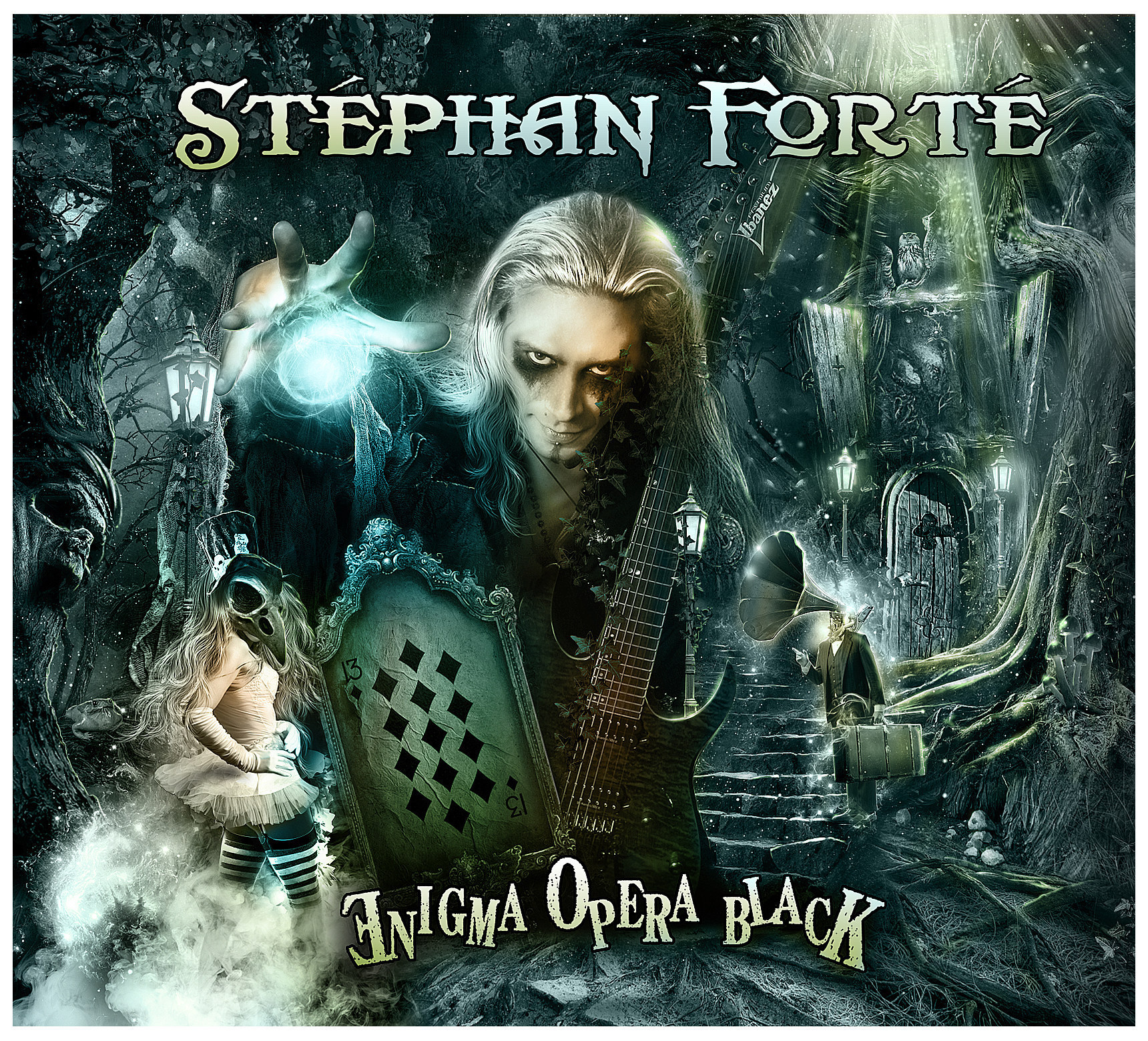 Guitar Virtuoso Stephan Forte to Release New Solo Album 'Enigma Opera Black' 10/28