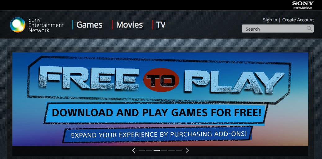 Sony Unveils New Online Store for Games, Movies, TV Shows & More Over PlayStation & Sony Devices
