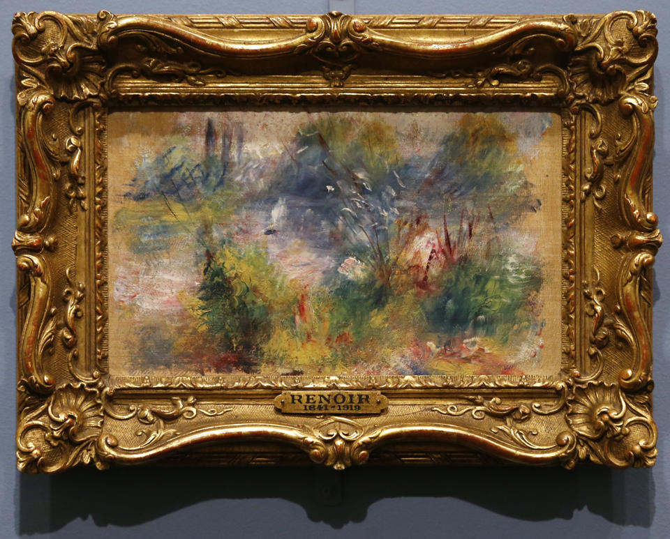Renoir Stolen Painting Returns to Baltimore Museum After 63 Years