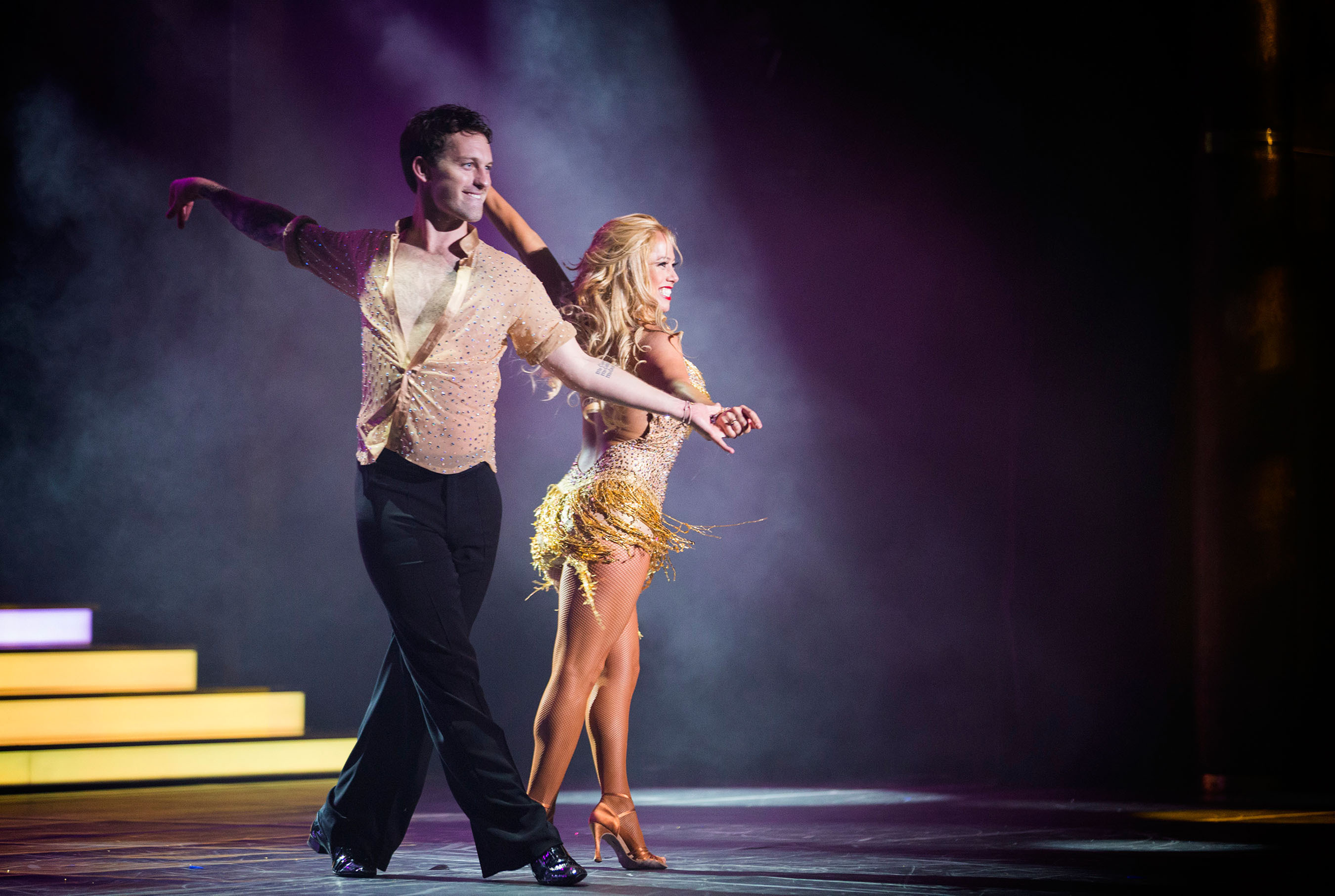 Holland America Line Adds Pro Dancers Kym Johnson, Tristan MacManus And Celebrity Sabrina Bryan To 'Dancing With The Stars: At Sea' Theme Cruises In The Caribbean Janua